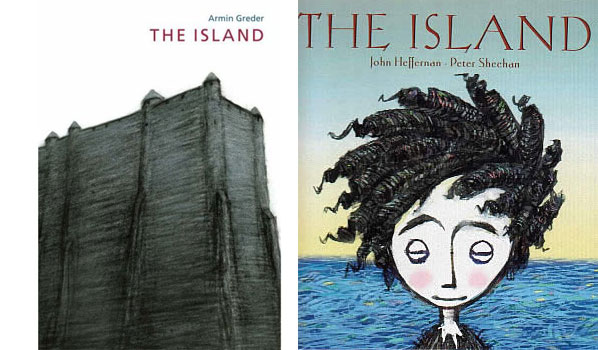 The Island Book Covers