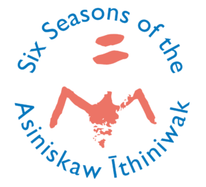 Six Seasons of the Asiniskaw Ithiniwak Logo
