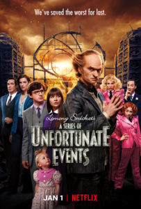 Series of Unfortunate Events Netflx Series poster