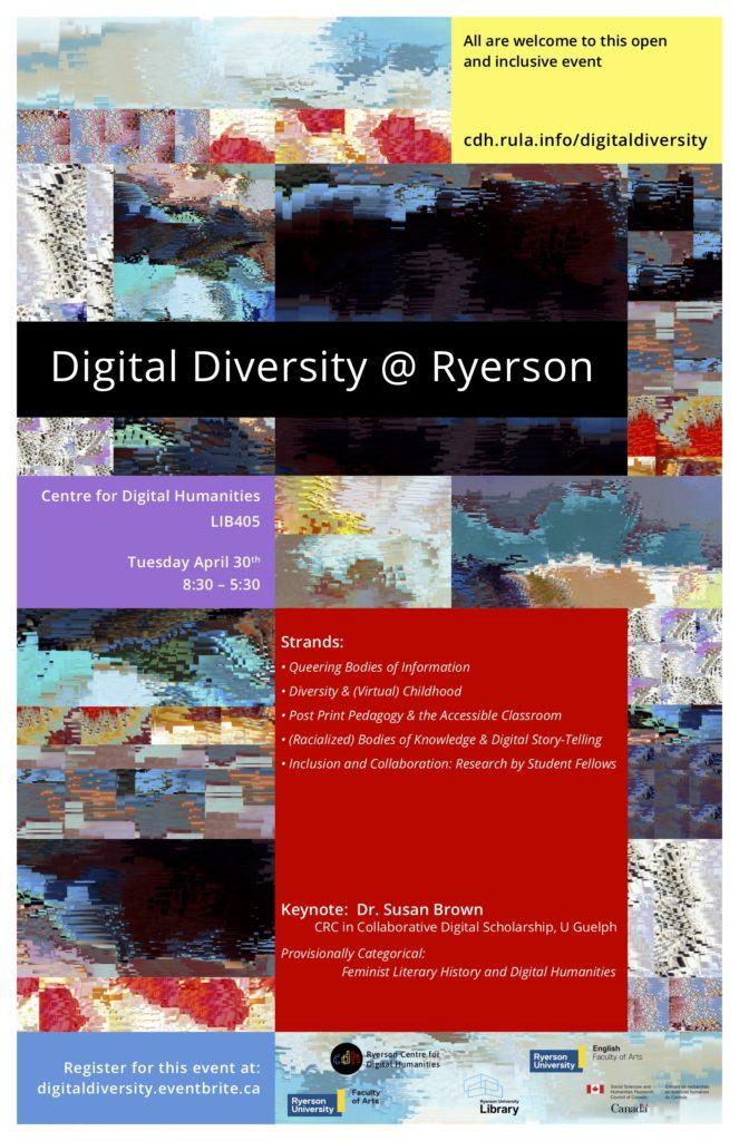 Digital Diversity @ Ryerson Poster